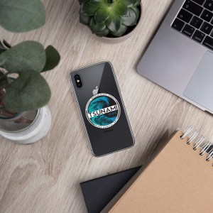 Tsunami iPhone Case