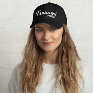 Embroidered Tsunami Dad hat
