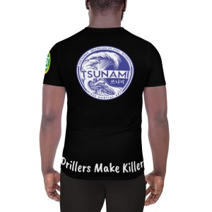 BJJ All-Over Print Athletic T-shirt (Drillers make killers)