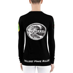 BJJ & TKD Women's Rash Guard (drillers make killers)