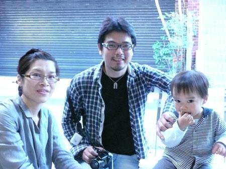 深堀隆介の家族