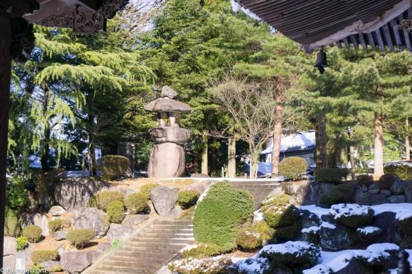 井波別院瑞泉寺 庭園