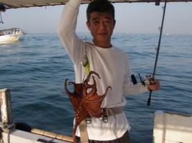 2016年6月27日 釣り船角田 明石タコ釣り-2画像