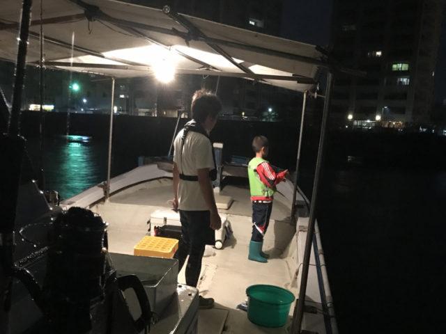 10月2日(月)の釣果(タチウオ・ハマチ)
