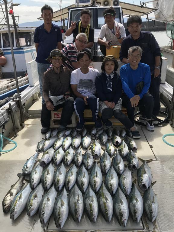 2019-9-29-メジロ船中42匹ほかサワラ・スズキなど