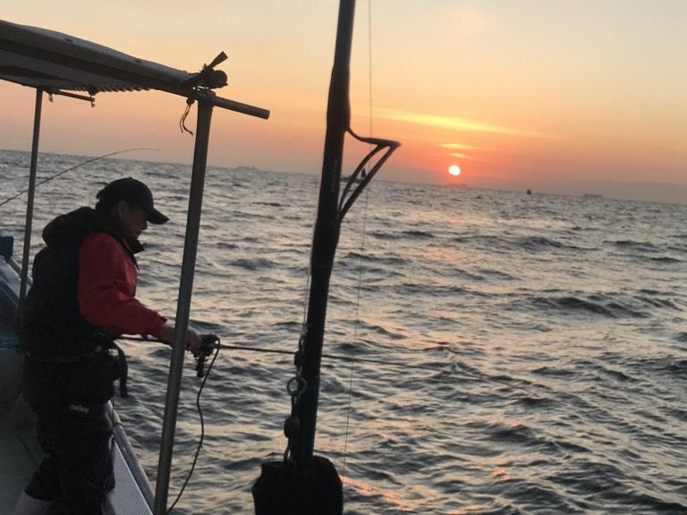 11月3日(日)の釣果(タチウオ船中50匹)