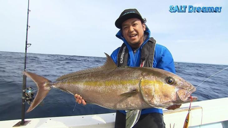 SALT Dreamer 鹿児島県種子島 カンパチ ジギング #074 鈴木斉