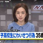 小渕寿人の顔画像は?家族は?35歳の会社員が女子高校生のスカートの中に手を入れる/品川区