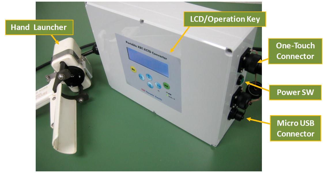 Portable XBT/XCTD Converter MK-150P