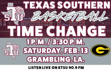 <div>Saturday's Basketball Road Doubleheader Moved Up Due To Weather In Grambling</div>