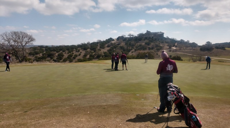 Men's Golf Fights Back In Round 2 Of Big Texan Invitational