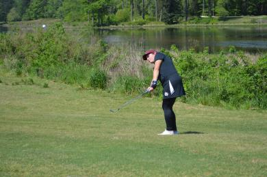 <div>Vaughn Leads The Way For Women's Golf After Round 1 Of National Collegiate</div>