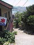 千光寺からの下り道