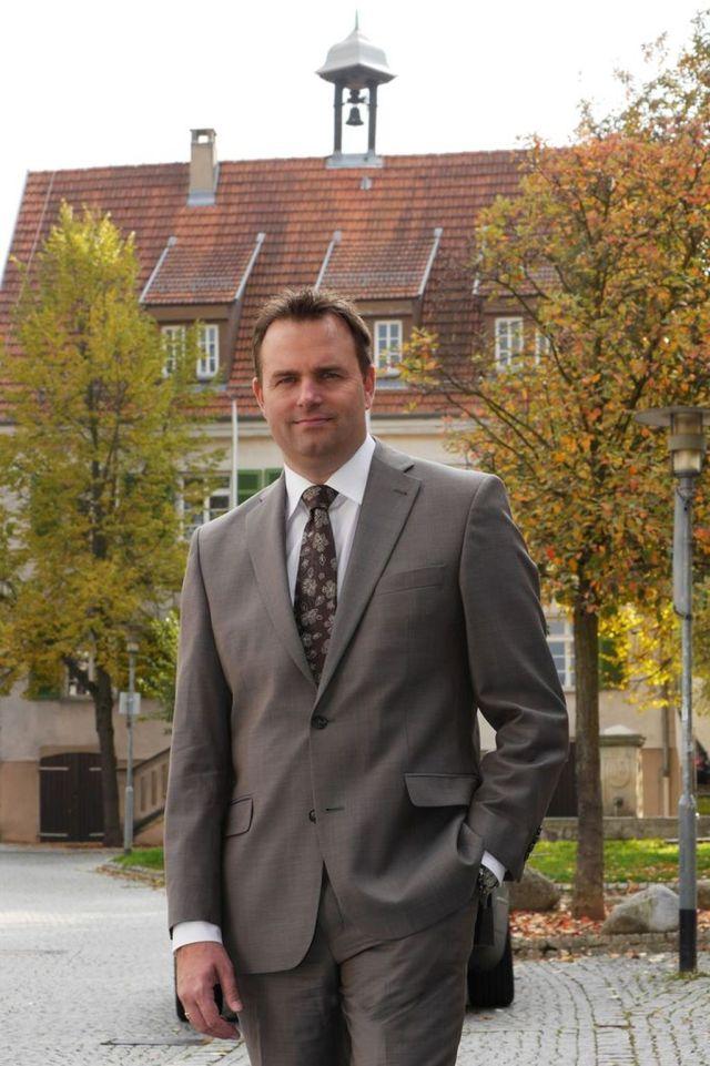 Bügermeister Thomas Matrohs