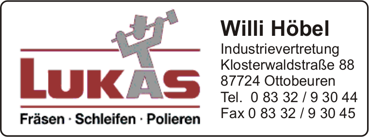 Lukas - Willi Höbel