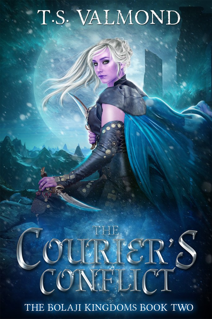 The Courier's Conflict by T.S. Valmond cover image