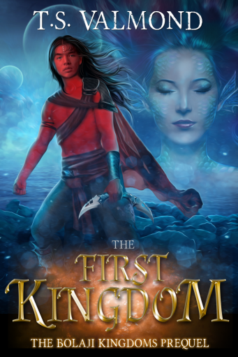 cover image of The First Kingdom by TS Valmond
