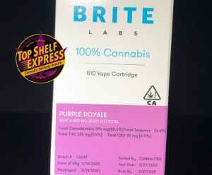Brite Labs – PURPLE ROYALE : Cart .6g