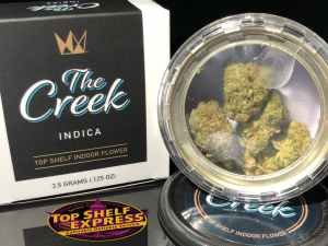 West Coast Cure – THE CREEK : Flower Can 3.5g