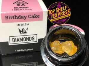 West Coast Cure – BIRTHDAY CAKE : Diamonds 1g