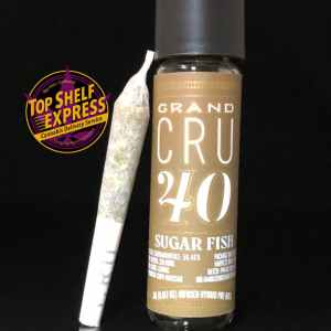 Grand CRU 40 – SUGAR FISH : Infused Pre Roll .5g
