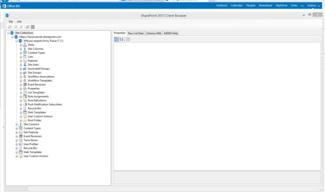 SharePoint Client Browser