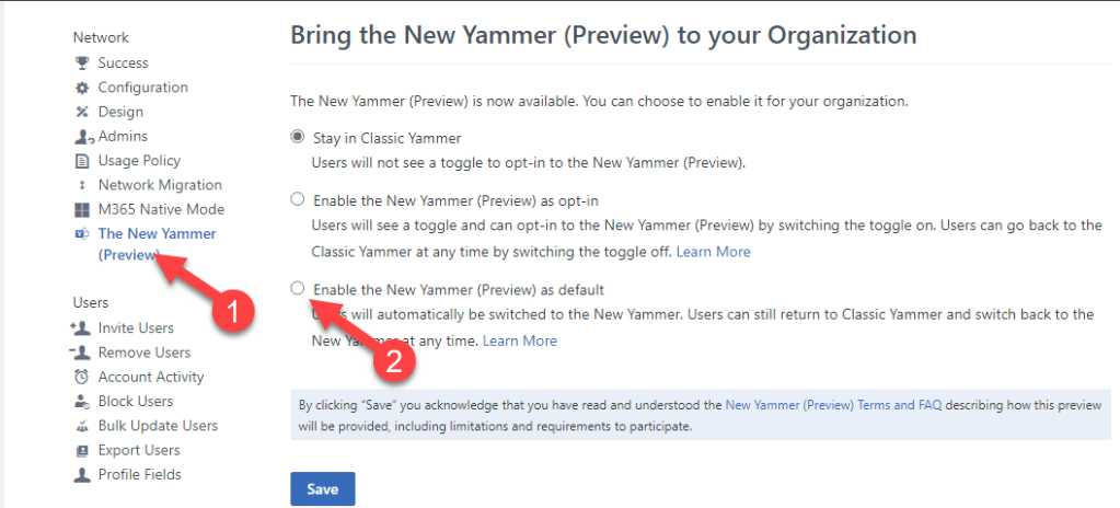 Bring the New Yammer