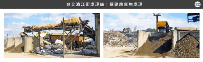 台北:營建廢棄物處理廠