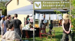 Transition Town Braunschweig Infostand