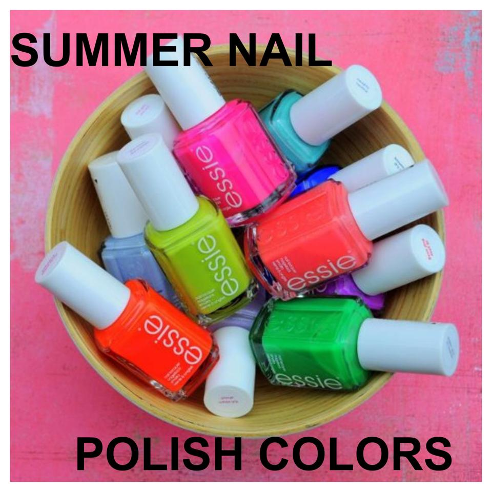 My Favorite Summer Nail Polish Colors | TT New York