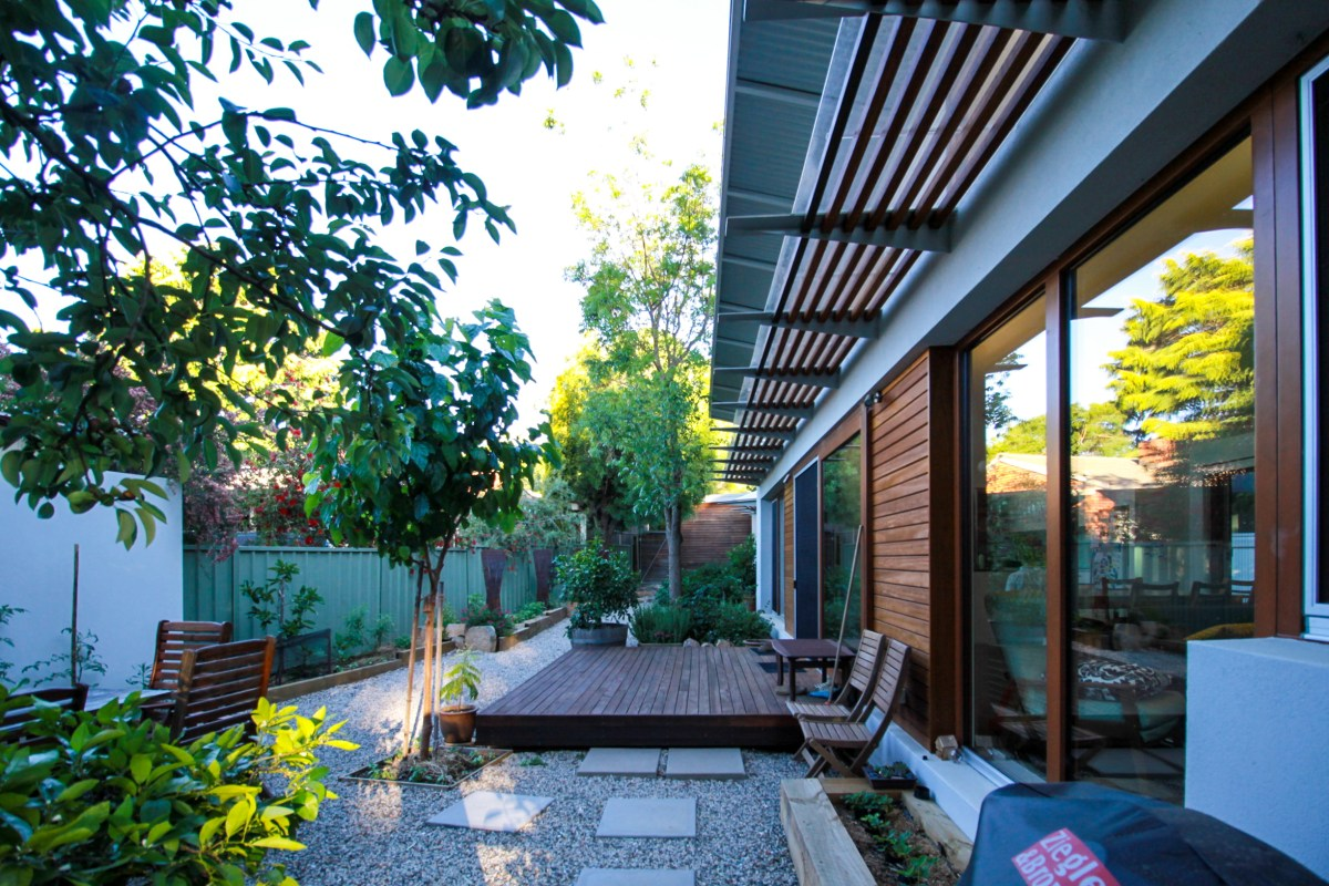 Watson House - high energy rating house triple glazing-