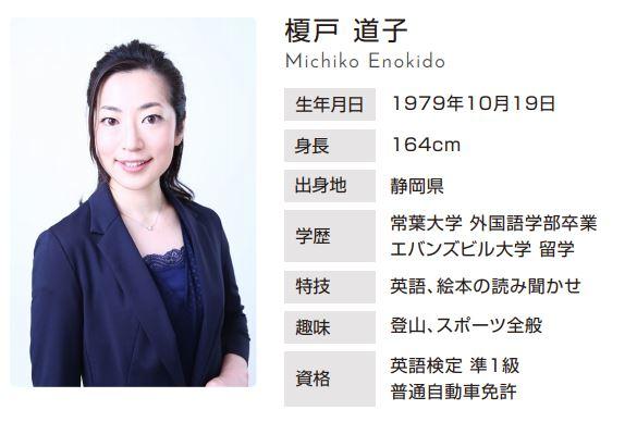 榎戸教子と榎戸道子、美人姉妹アナウンサーのプロフィール比較