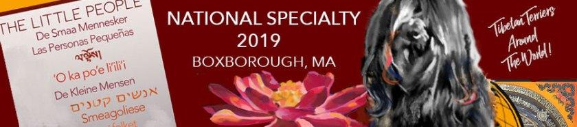 2019 Natl Speciality header (dog image)