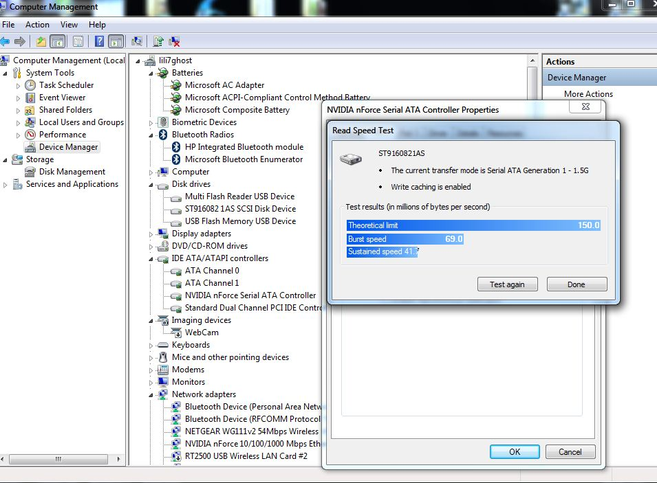 Test Your Hard Drive Speed With Windows 7's Device Manager (2/6)