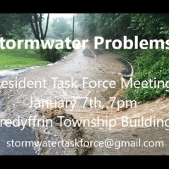 Storm Water Task Force Public Forum Jan. 7