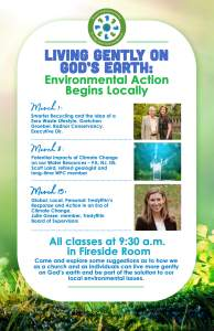 Smarter Recycling and a Zero Waste Lifestyle @ Wayne Presbyterian Church, Fireside Room