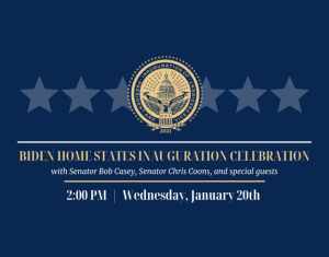 Virtual Home States Inauguration Event