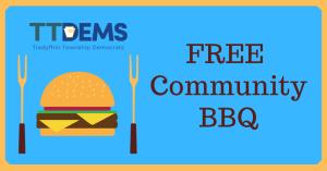Free Community BBQ @ Wilson Farm Park