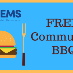 Free Community BBQ! Join Us in Person!