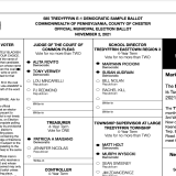 2021 General Election Sample Ballots are Here