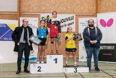 Maëlys Messé gagne les Minicom's 2019