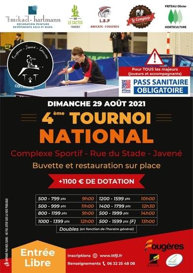 Read more about the article Présentation du Tournoi National 2021