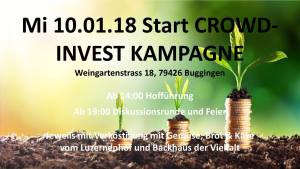 Gemeinsam Bodenfruchtbarkeit sichern - Podium und Auftakt zur Landkauf-Kampagne am Luzernenhof @ Haus 037 - Stadtteilzentrum Vauban