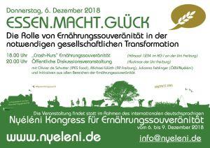 Cräsh Kurs Ernährungssouveränität @ Universität Freiburg, Kollegiengebäude KG I, Hörsaal HS 1234