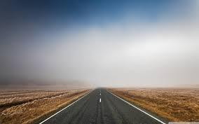straigh road