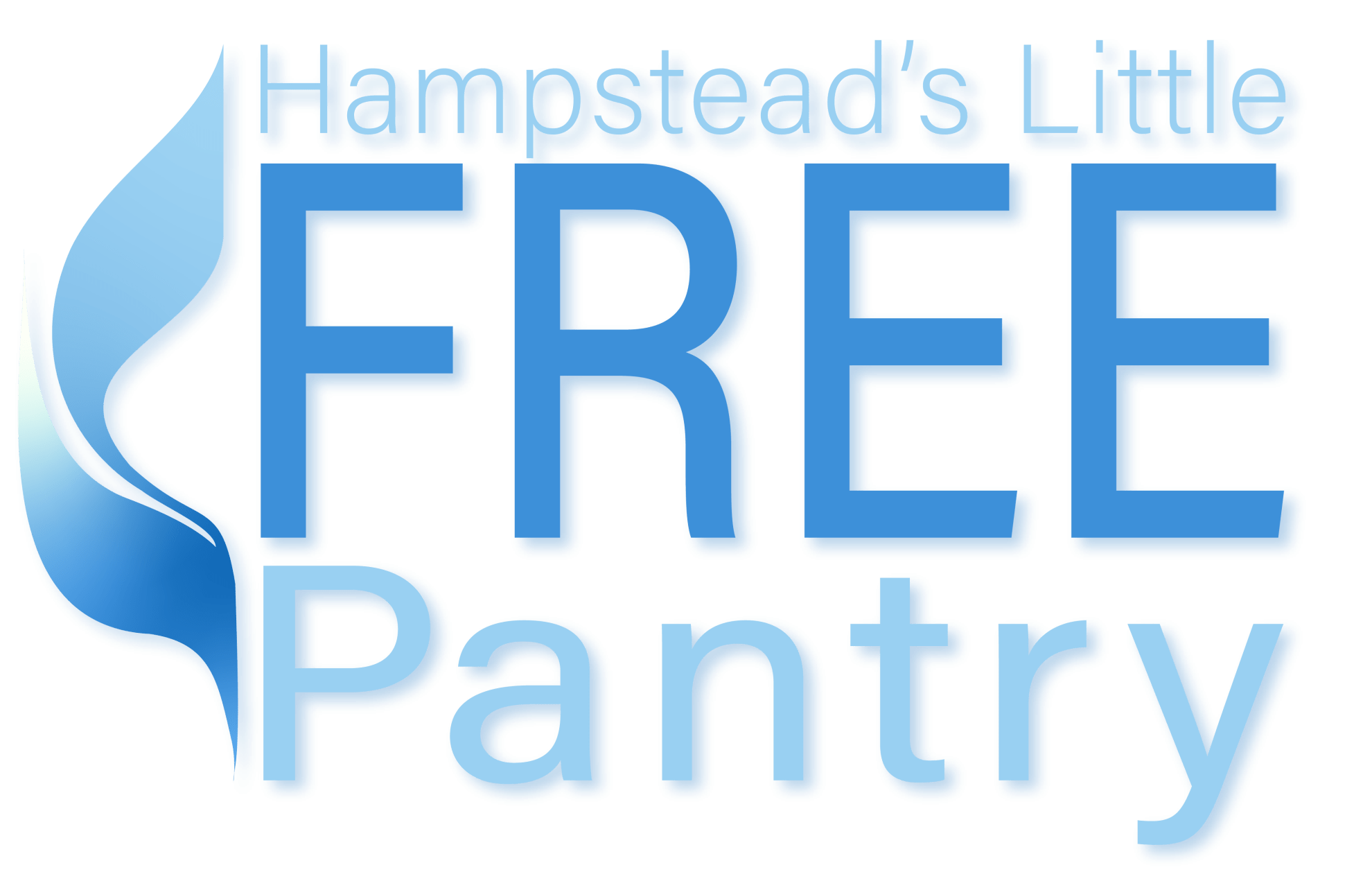 Text-based logo for Hampstead's Little Free Pantry