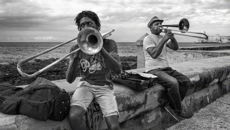 Trombones on the Malecón