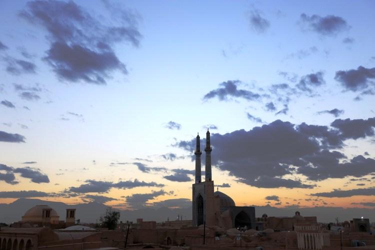 Evening in Yazd Iran