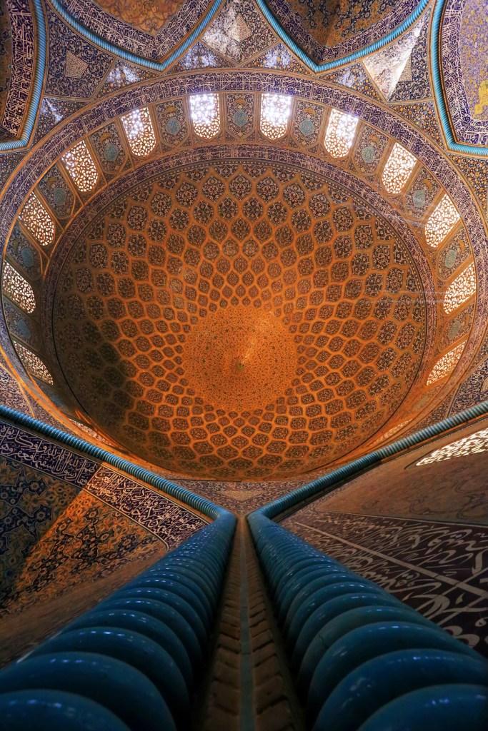 The dome, Isfahan, Iran