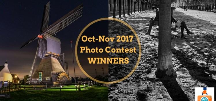 October-November 2017 Photo Contest Winners